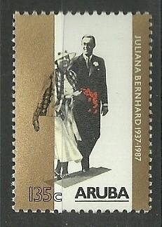 Aruba  21 Postfris