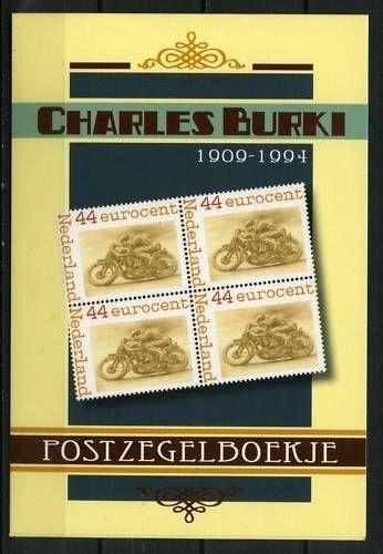 Charles Burki Postzegelboekje (1) Postfris