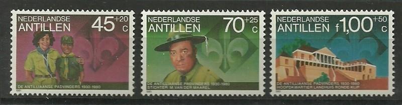 Nederlandse Antillen 691/693 Postfris