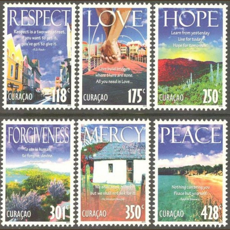 Curaçao Status Aparte 147/152 Deugden 2013 Postfris