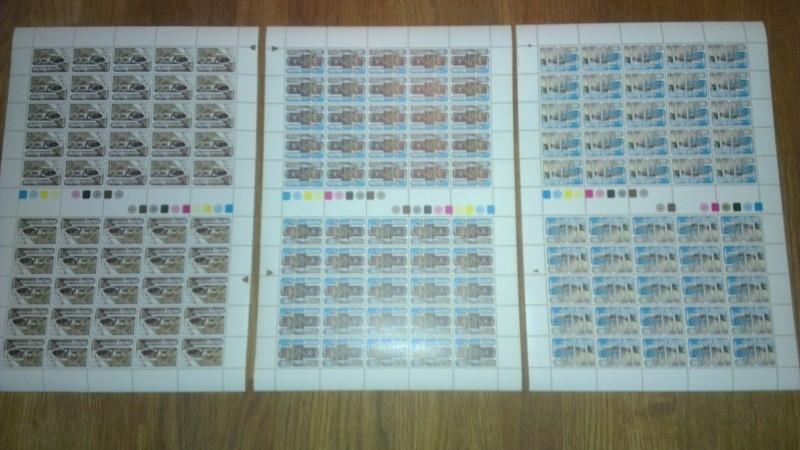Nederlandse Antillen 556/558 Postfris (complete vellen)