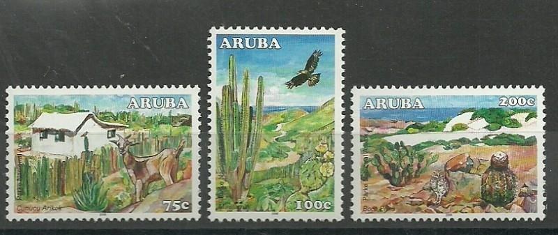 Aruba 369/371 Natuurpark Postfris