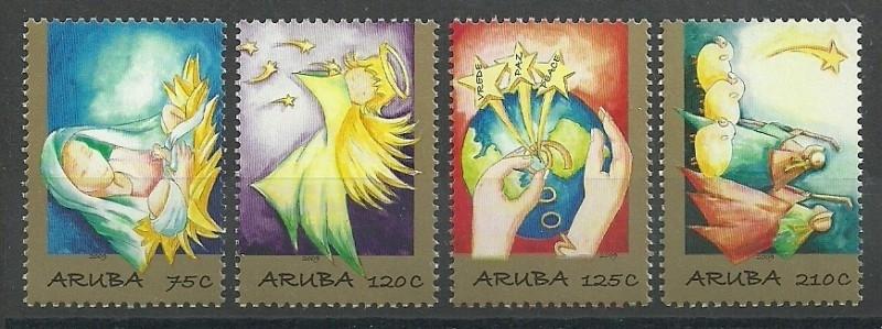 Aruba 431/434 Kerst 2009 Postfris