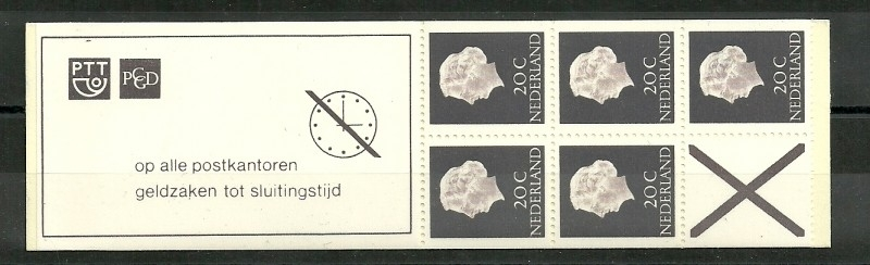 PZB  6eF Postfris + Klein Telblok