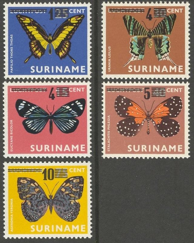 Suriname Republiek  97/101 Hulpuitgifte 1977 Postfris