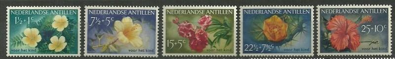 Nederlandse Antillen 248/252 Postfris