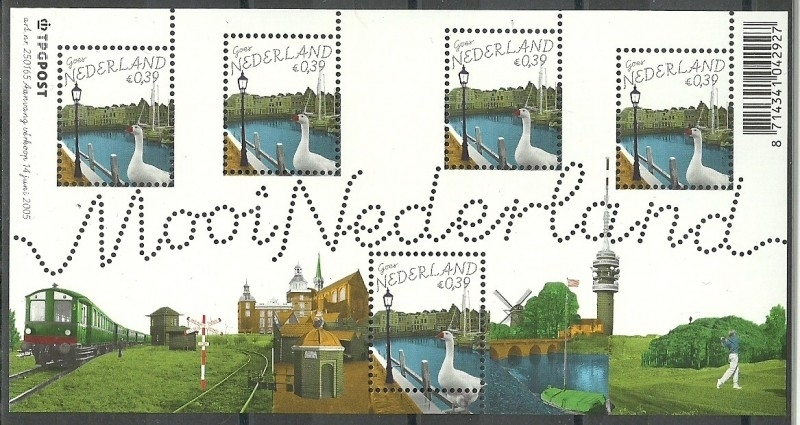 Nvph 2345 Mooi Nederland Goes Postfris