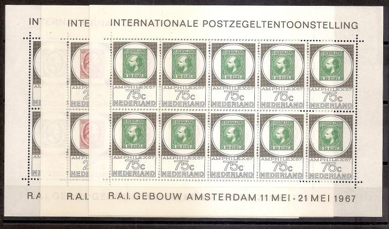 Gratis serie V886/888 Amphilexvellen Postfris of 238/239 Goudse Glazen Ongebruikt of Surprise Serie Postfris