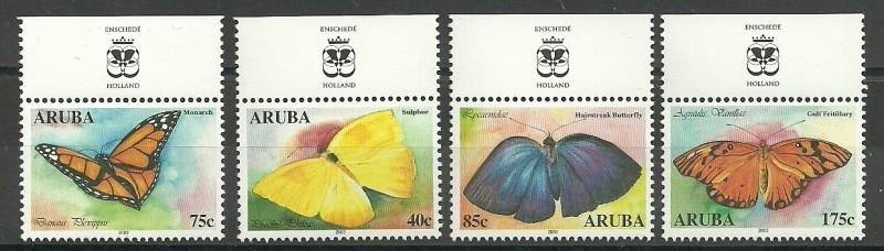 Aruba 302/305 Vlinders 2003 Postfris