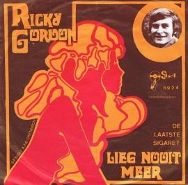 RICKY GORDON - LIEG NOOIT MEER
