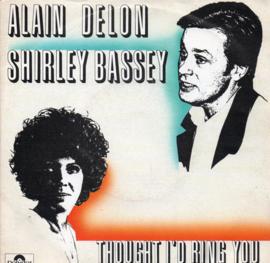 ALAIN DELON & SHIRLEY BASSEY - TROUGHT I'D RING YOU