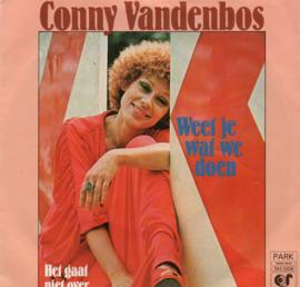 CONNY VANDENBOS - WEET JE WAT WE DOEN