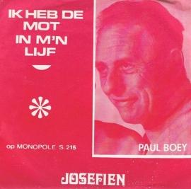 PAUL BOEY  ik heb de mot in m`n lijf