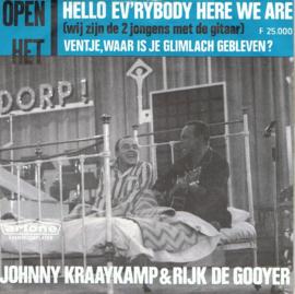 JOHNNY KRAAYKAMP & RIJK DE GOOYER - WIJ ZIJN DE 2 JONGENS MET DE GITAAR