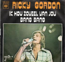 RICKY GORDON - IK HOU ZOVEEL VAN JOU