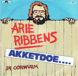 ARIE RIBBENS - AKKETDOE