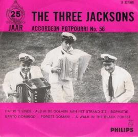 THREE JACKSONS - ACCORDEON POTPOURRI NO 56