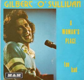 GILBERT O'SULLIVAN - A WOMAN'S PLACE