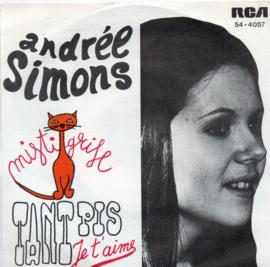 ANDRÉE SIMONS - TANT PIS JE T AIME