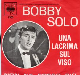 BOBBY SOLO - UNA LACRIMA SUL VISO