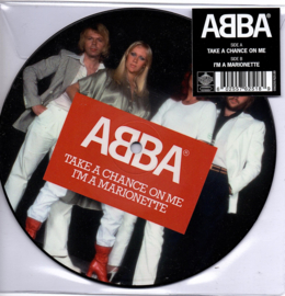 ABBA - TAKE A CHANCE ON ME   ( picture single )