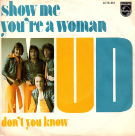 MUD - SHOW ME YOU'RE A WOMAN