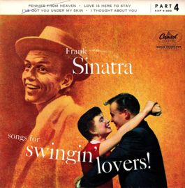 FRANK SINATRA - SONGS FOR SWINGIN LOVERS  ( ep )