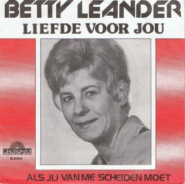 BETTY LEANDER - LIEFDE VOOR JOU