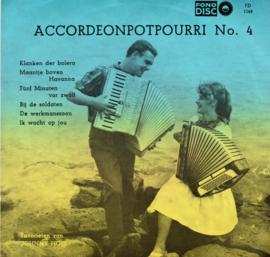 SCALA TRIO - ACCORDEONPOTPOURRI NO 4  (EP)
