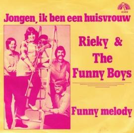 RIEKY & THE FUNNY BOYS -  jongen , ik ben een huisvrouw