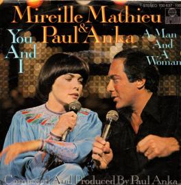 MIREILLE MATHIEU & PAUL ANKA - YOU AND I