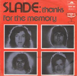 SLADE - THANKS FOR THE MEMORY