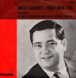 WILLY ALBERTI ZINGT MAX TAK - AMSTERDAM
