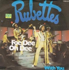 RUBETTES THE - foe dee oh dee