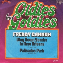 FREDDY CANNON  oldies but goldies