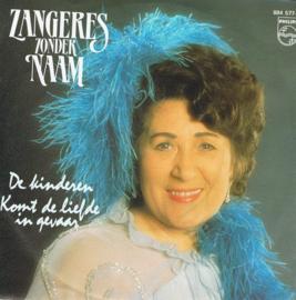 ZANGERES ZONDER NAAM - DE KINDEREN