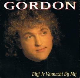 GORDON - BLIJF JE VANNACHT BIJ MIJ