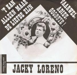 JACKY LORENZO - 'T KAN ALLEEN MAAR DE LIEFDE ZIJN