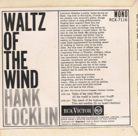 HANK LOCKIN ( EP )  waltz of the wind