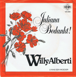 WILLY ALBERTI - JULIANA BEDANKT
