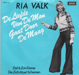 RIA VALK - DE LIEFDE VAN DE MAN GAAT DOOR DE MAAG