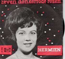 HERMIEN - ZEVEN DONKERRODE ROZEN
