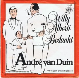 ANDRE VAN DUIN - WILLY ALBERTI BEDANKT
