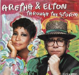 ARETHA & ELTON - THROUGH THE STORM