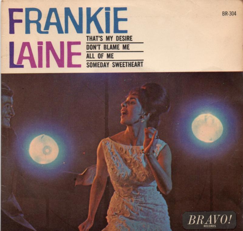 FRANKIE LAINE - THAT'S MY DESIRE + 3 (EP)