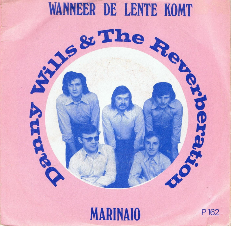 DANNY WILLS & THE REVERBERATION -  WANNEER DE LENTE KOMT