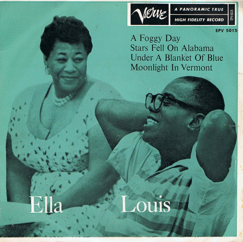 ELLA AND LOUIS - A FOGGY DAY