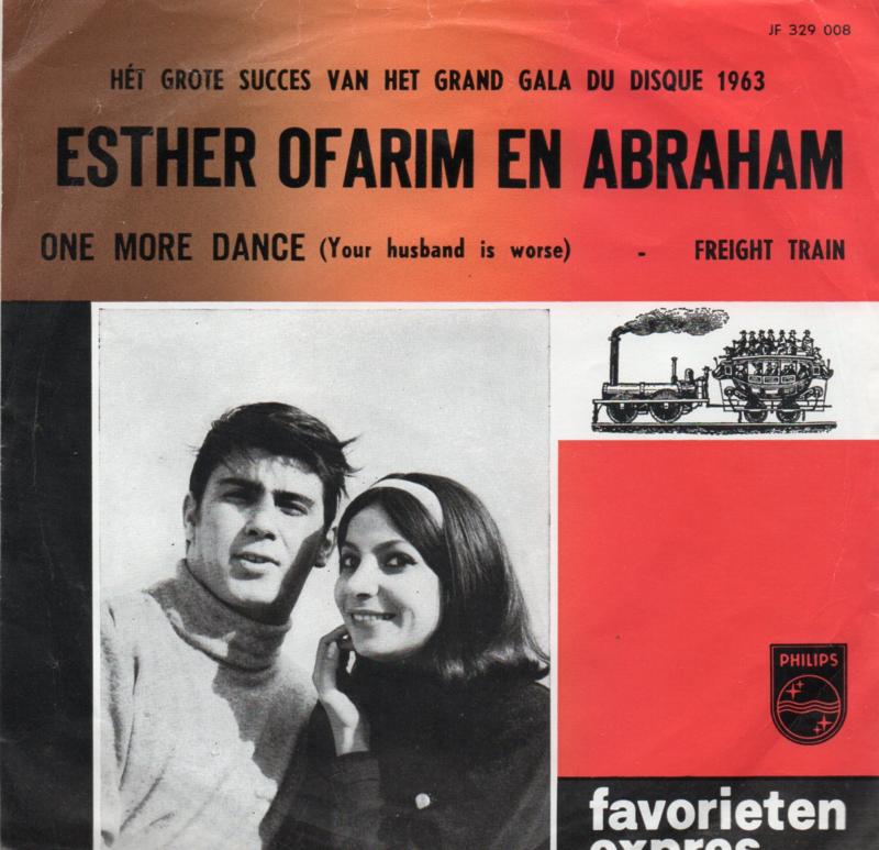 ESTHER OFARIM E ABRAHAM - ONE MORE DANCE