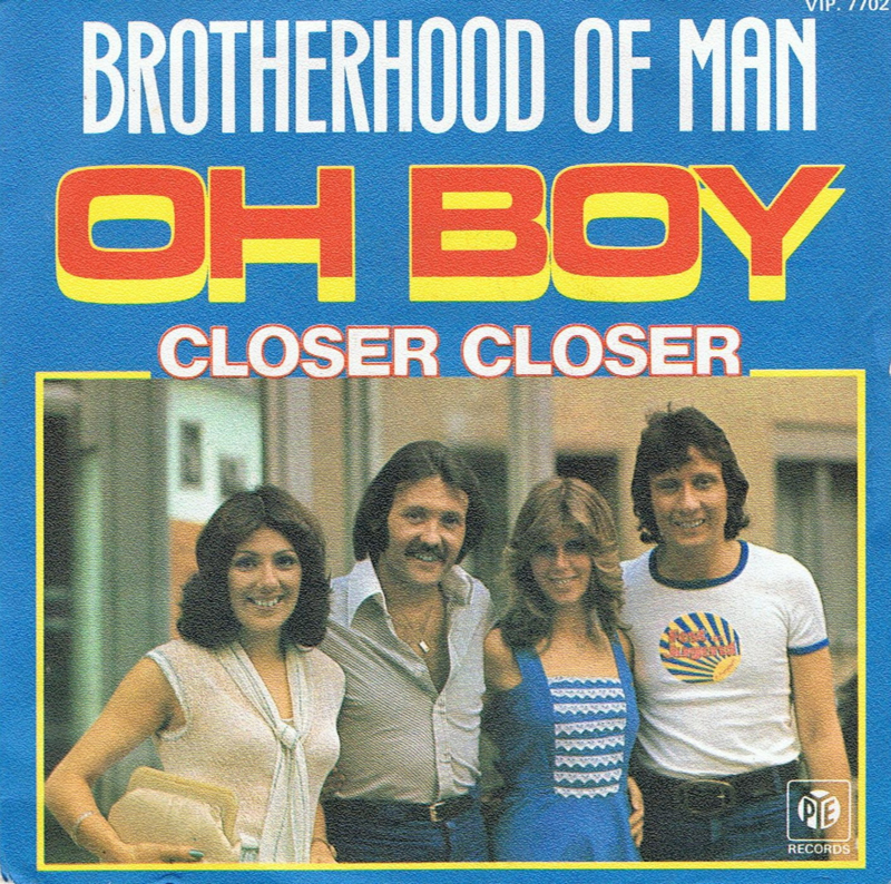 BROTHERHOOD OF MAN - OH BOY