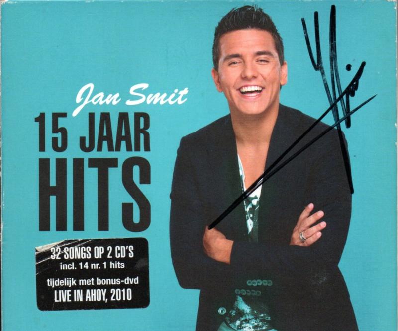 JAN SMIT - 15 JAAR HITS ( met handtekening )